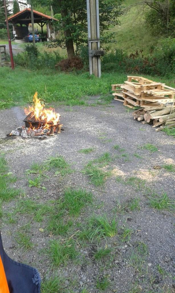 zu löschendes Feuer